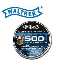 500 Walther Spitz - Diabolo 4,5mm verkupfert !!!