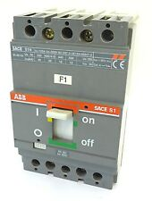 ABB SACE S1N Leistungsschalter Circuit Breaker Ue 500V Iu 125A 40A bei 230V S1
