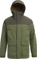Burton Zipped Hooded Ski Jacket Green/Forest UK Small *Ref99