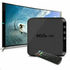 MXQ RK3229 4K Android Quad Core 8GB HDMI Smart TV Box Media Player - Black