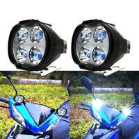1000Lm 12-80V Super Bright Motorcycles Led Headlight Scooters Fog Spotlight Lamp