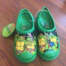 Nwt Teenage Mutant Ninja Turtle Sandals Boys Shoes Sz 2/3 Tnmt
