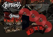 """Cryptopsy 'The Best Of Us Bleed' Deluxe 4x12"""" Red Vinyl Box Set - NEW RSD"""