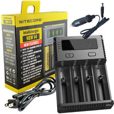 2016 New NITECORE i4 smart battery charger with free car charger---free shipping