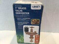 """Orbit 1"""" inch Brass Valve Converter #57035"""