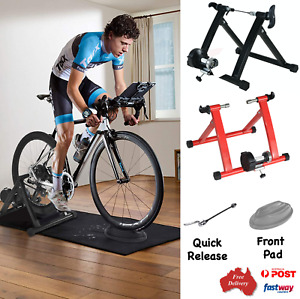 Bicycle Trainer Stand Portable Fitness Circling Home Exercise Bike Training Rack