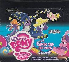 My Little Pony Series 3 Trading Card Fun Packs Box