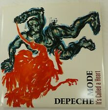 DEPECHE MODE 45 It's Called a Heart/Fly... MUTE UK press NEAR MINT poster Rp107