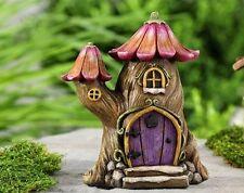 Miniature Fairytale Tree House  Fairy  Dollhouse Gnome Hobbit Garden 706073