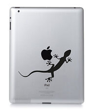 Lézard Gecko Apple Ipad Mac MacBook PC PORTABLE autocollant vinyle décalcomanie.