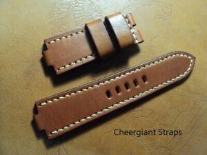 Anonimo Dino Zei Glauco notched lug end leather strap MIT Cheergiant straps