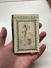More details for rare late victorian early edwardian needle case faudel phillips and sons