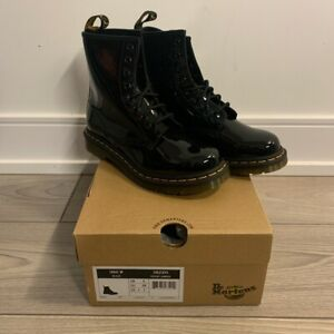 doc martens patent leather 1460 size US7/UK5/38 euro brand new with box