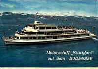 Schiffe & Seefahrt BODENSEE Binnenschiff Motorschiff STUTTGART Schiffsfoto-AK