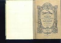 Schubert Album - Sammlung der Lieder Band 1 - gebunden