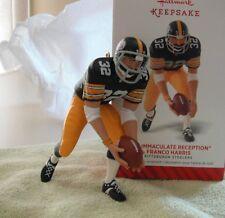 Franco Harris - Steelers Immaculate Reception Hallmark Keepsake Ornament 2014