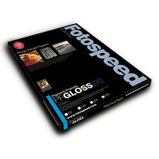 Fotospeed Pigment Friendly 270gsm Gloss Photo Paper. A4 - 50 Sheets. Pro Inkjet.