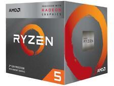 AMD RYZEN 5 3400G 4-Core 3.7 GHz (4.2 GHz Max Boost) Socket AM4 65W YD3400C5FHBO