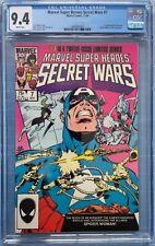 Secret Wars #7 CGC 9.4 1st appearance of Spider-Woman (Julia Carpenter)
