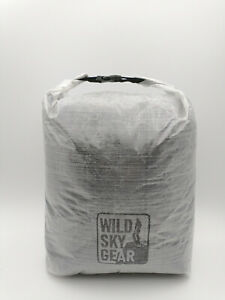 Wild Sky Gear DCF cuben fibre wide dry bag 22g ultralight dyneema 8L