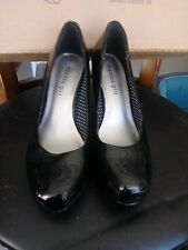 Madden Girl Black Patent Leather GETTA Pumps Women's Size 9 Dress Wedding Prom