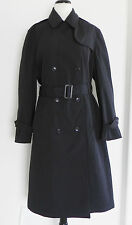 New Sterling Wear of Boston Trench Coat Navy Blue Classic Size14R