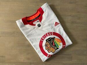 Adidas Chicago Blackhawks NHL Authentic Practice Jersey Size 58 CR4300