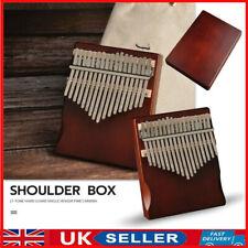 More details for uk 17 keys kalimba thumb piano wooden finger musical instrument kit for beginner