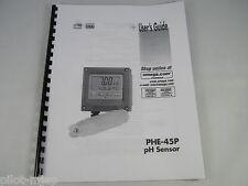 OMEGA PHE-4SP PH SENSOR USER GUIDE