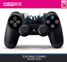 KNR6653 ZOMBIES WALKING DEAD - Dualshock 4 DS4 PS4 Touchpad Decal Sticker