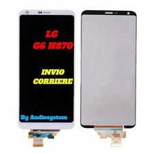 DISPLAY LCD +TOUCH SCREEN PER LG G6 H870 H871 H872 LS993 VS998 VETRO BIANCO