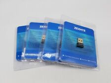 Bluetooth USB Adapter Low Energy Micro Adapter Bluetooth  Receiver LOT OF 4 NEW