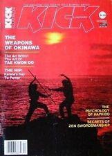 12/82 KICK MAGAZINE MIKE STONE TADASHI YAMASHITA ZEN KARATE KUNG FU MARTIAL ARTS