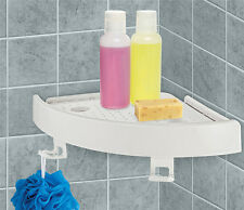 Shelf Wall Rack Quick Fix Corner Easy Bathroom Storage Snap Up Kitchen Bath Kit