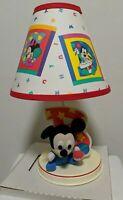 Vintage Disney Baby MICKEY Mouse Nursery Lamp Original Lamp New Never Used
