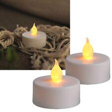 Star Trading Led - velas de Té blanco Amarillo/centelleante interior