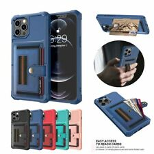 Leather Card Slot Wallet Case Stand Cover For iPhone 11 12 Pro Max XR 6 7 8 Plus