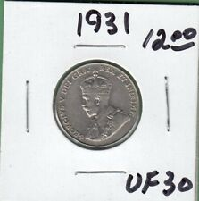 1931 Canada 5 Cents Coin - VF-30