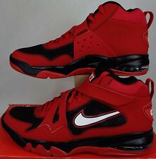 New Mens 14 NIKE Air Force Max CB 2 HYP Red Leather Shoes $150 616761-600