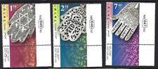Israel: 2006 Amuleto Protector (Khamsa) juego SG1796-8 Estampillada sin montar