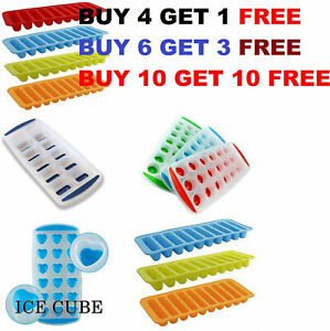 DIY Ice Cube Tray Silicone/plastic Ice Mould Water Stick Bottle Ice Cream Maker