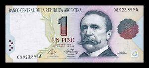 B-D-M Argentina 1 Peso Convertible 1992 Pick 339a Serie A SC UNC