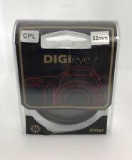 52mm Circular CPL HD Digital FILTER lenses for canon nikon sony