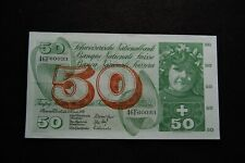 More details for swiss national bank 7th february 1974 50 francs bank note 46f60033