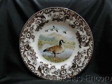 """Spode Woodland Canada Goose, England: Dinner Plate (s), 10 3/4"""", Box"""