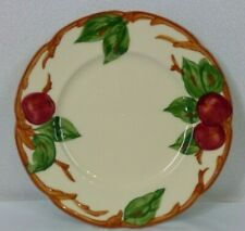 "Vintage Franciscan Earthenware Apple Dinnerware 8"" Salad Plate Hand Painted USA"