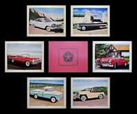 OLD CHRYSLER CAR POSTERS 1956 1957 1958 1959 FURY BELVEDERE PLYMOUTH 318 350 361