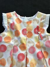 "Mayoral Baby NWOT Cotton Lined ""Dots"" Dress - 18 Months"