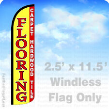 Flooring Carpet Hardwood Tiles Windless Swooper Feather Flag 25x115 Yz