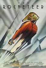 THE ROCKETEER MOVIE POSTER 2 Sided ORIGINAL ROLLED NM 27x40 BILLY CAMPBELL